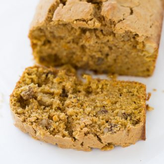 This Brown Butter Sweet Potato Bread recipe is full of warm fall spices, a bold sweet potato flavor and nutty brown butter.