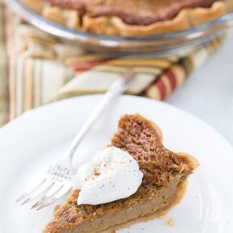 Brown Sugar Maple Pie