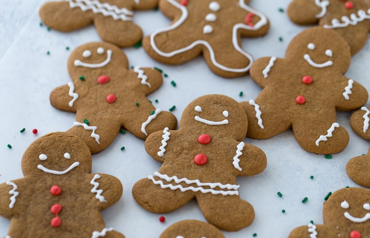 An easy recipe for gingerbread cookies that are perfect every time.