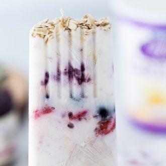 Berry Greek Yogurt Breakfast Pops