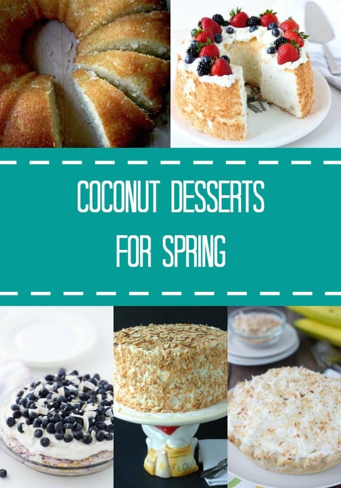 A collection of coconut recipes perfect for Spring and all your entertaining.