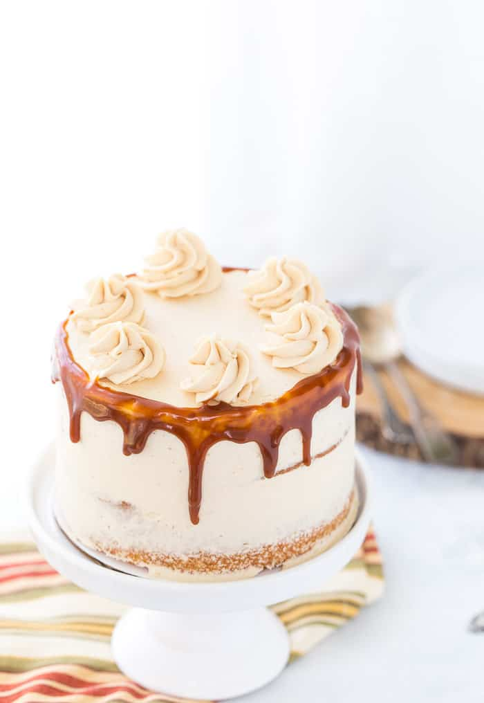 Cinnamon Buttercream Frosting For  Layer Cake