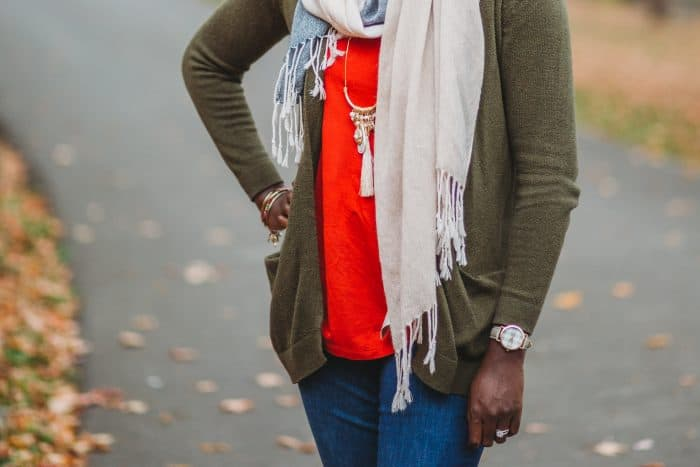 Cozy fall sweaters are a fall must-have. Pair with jeans and a scarf for an easy look. Here are a few of my favorites perfect for any budget.
