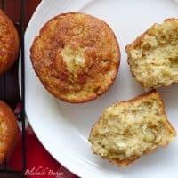 Banana Coconut Macadamia Muffins