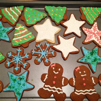 Holiday baking is a fun part of any holiday season. Using this royal icing recipe, you can decorate beautiful cookies to eat or to give as holiday gifts.