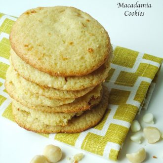 white chocolate macadamia nut cookies vegan