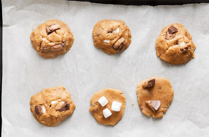 Reese's Peanut Butter Marshmallow Cookies
