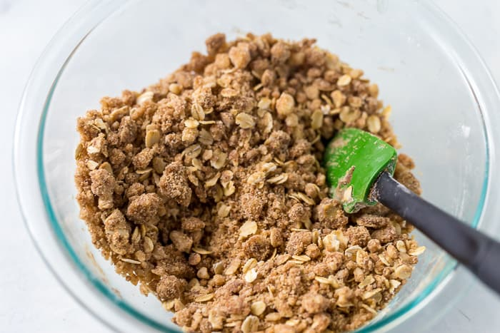 Pear Crisp with Oat Crumb Topping
