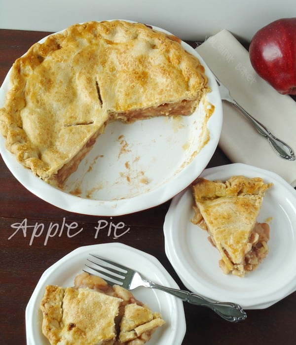 A classic apple pie recipe