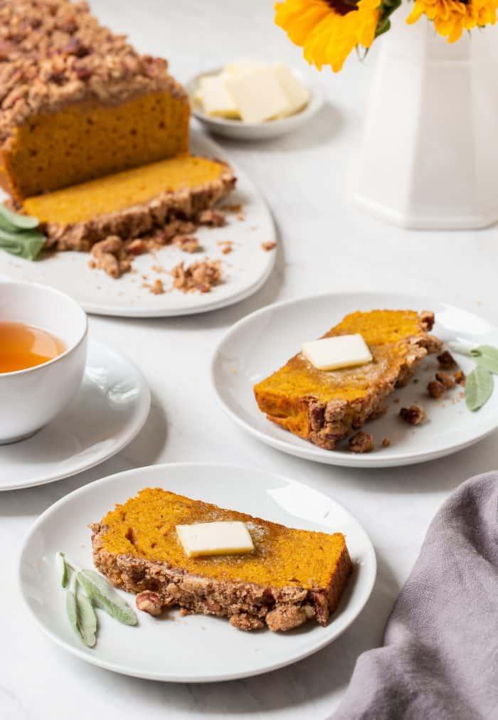 Brown Butter Pumpkin Sage Bread