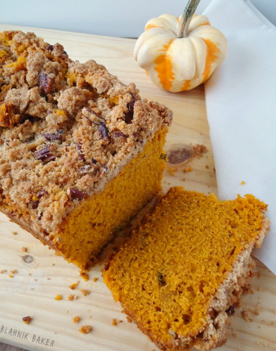 brown butter pumpkin sage bread