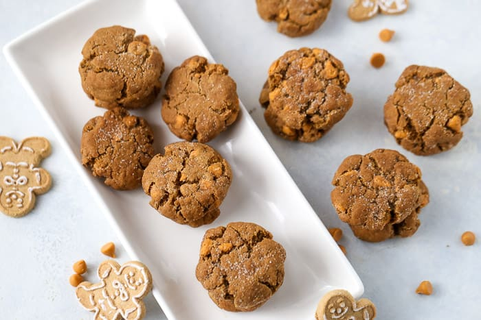 Butterscotch Molasses Cookies