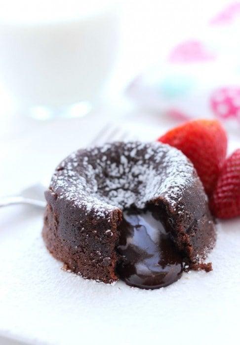 Molten Chocolate Mocha Cakes