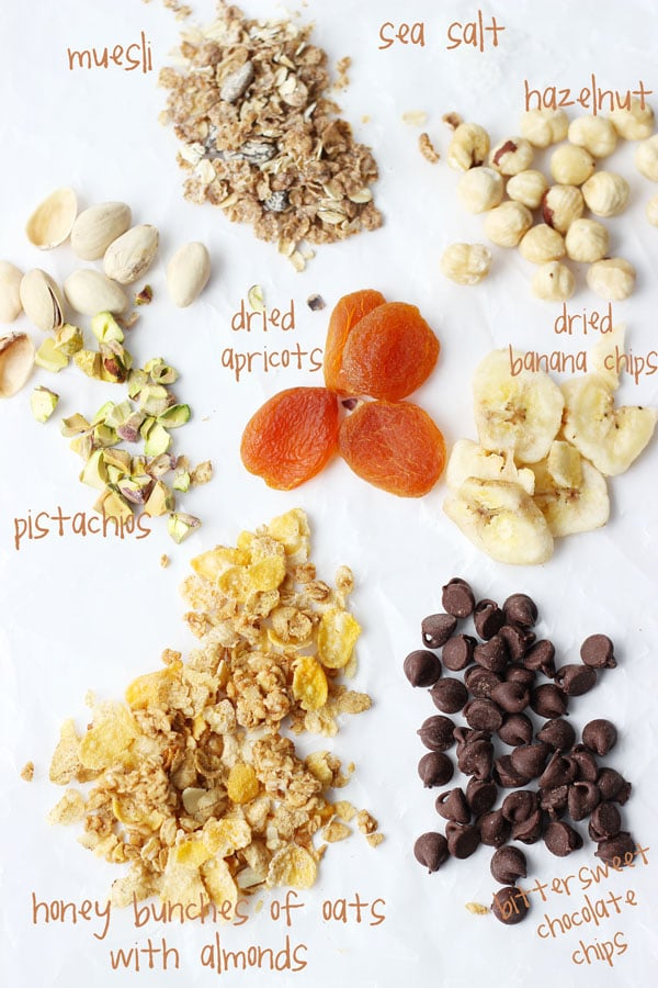 Chocolate Cereal and Nut Crisps