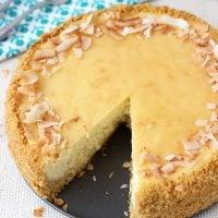 Piña Colada Cheesecake | BlahnikBaker.com