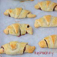 Raspberry Nutella Crescents