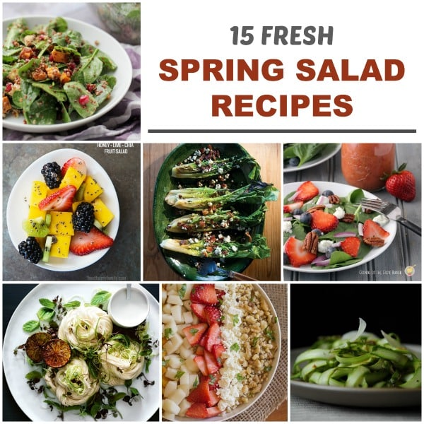 15 fresh spring salad recipes