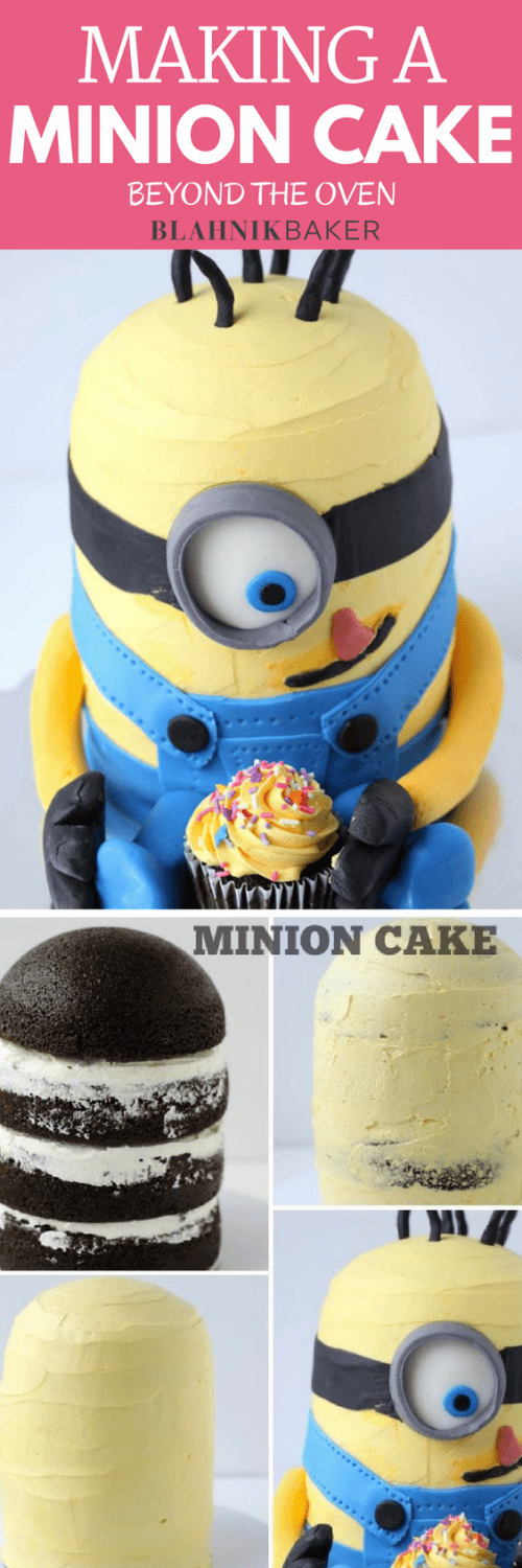 Fantastic Making A Minion Cake Beyond The Oven A Classic Twist Funny Birthday Cards Online Eattedamsfinfo