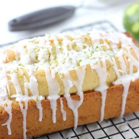 Coconut key lime bread