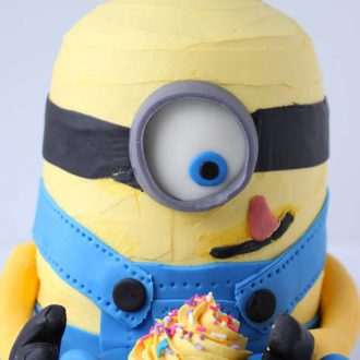How to Make a Minion Cake | BlahnikBaker.com
