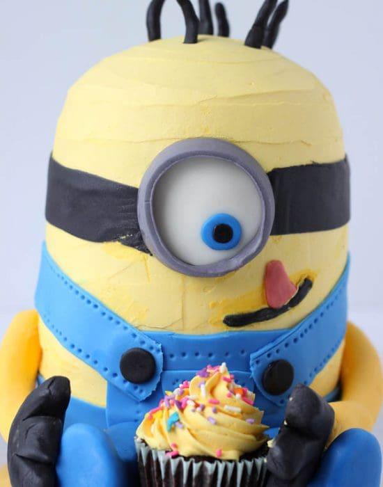 How to Make a Minion Cake | BlahnikBaker.com
