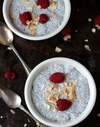 Coconut Vanilla Chia Pudding
