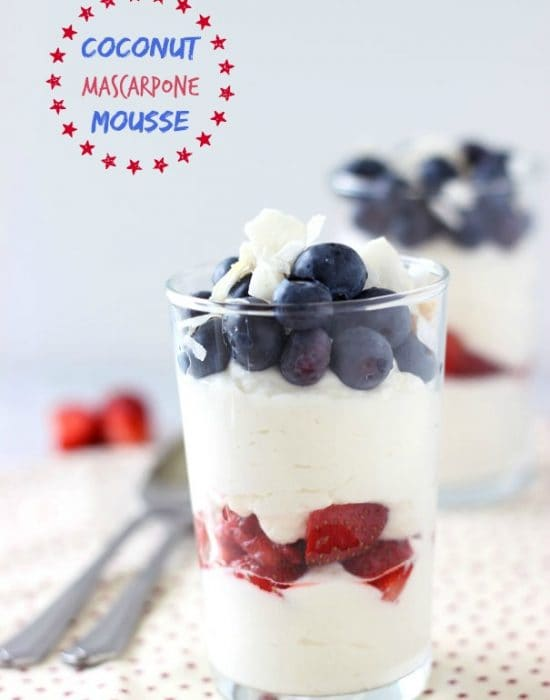Coconut Mascarpone Mousse