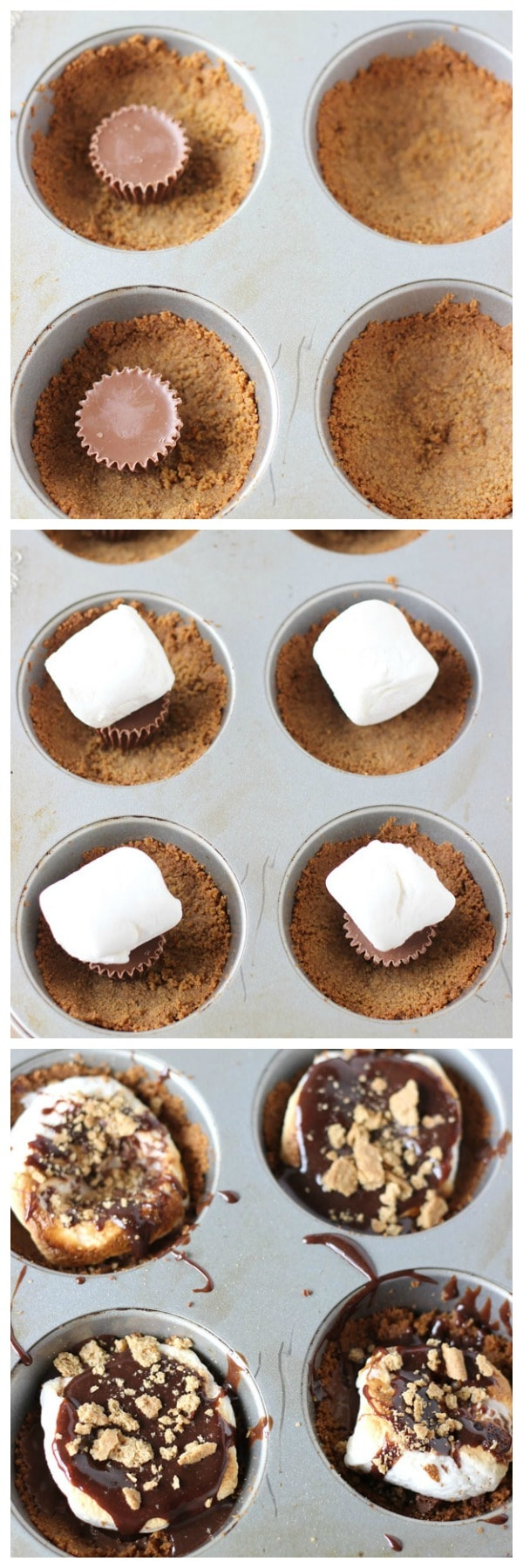 Peanut Butter Smores Cups