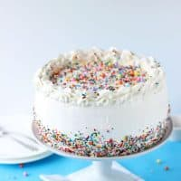 Birthday Ice Cream Cake