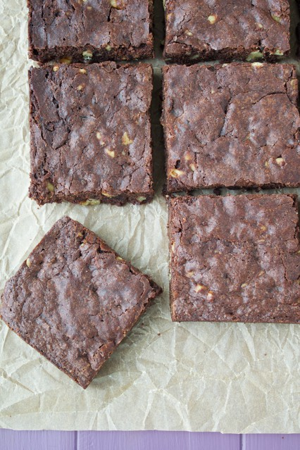 Brown Butter Walnut Brownies