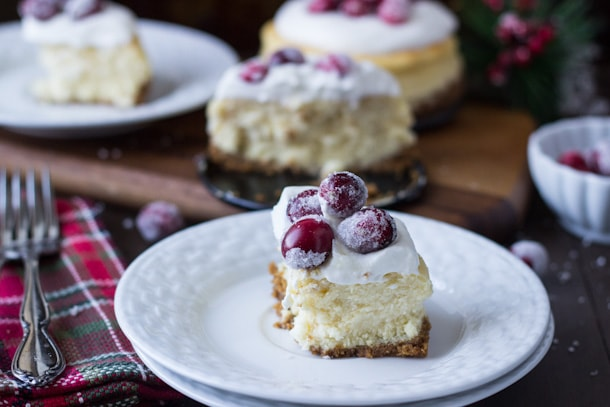 Creamy eggnog cheesecake with a spiced gingersnap crust... you are going to want this decadent dessert this holiday season!
