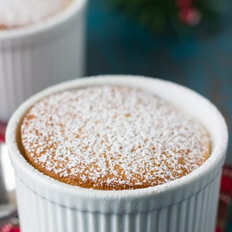 Eggnog Pudding Cake