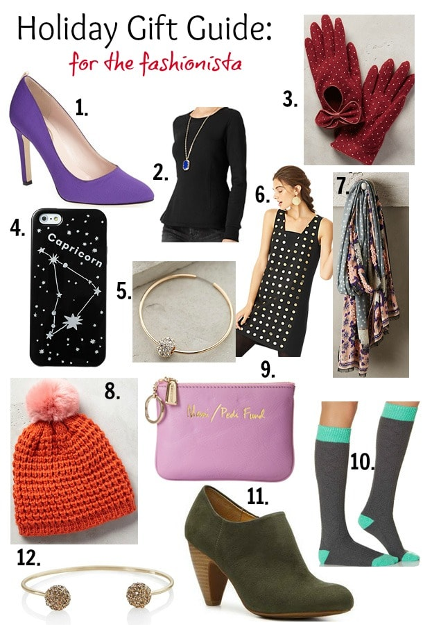 The Ultimate Holiday Gift Guide for the Fashionista on your list!