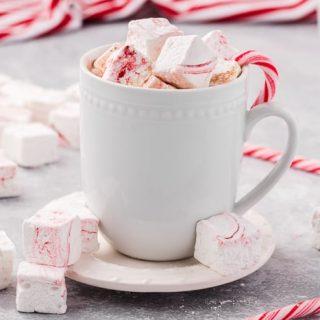 Homemade Peppermint Hot Cocoa