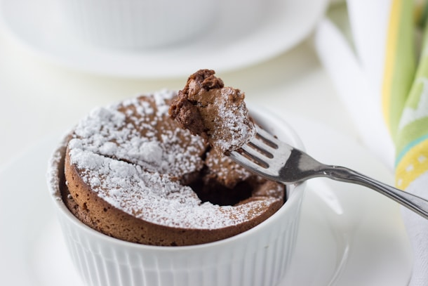 Chocolate Almond Souffle