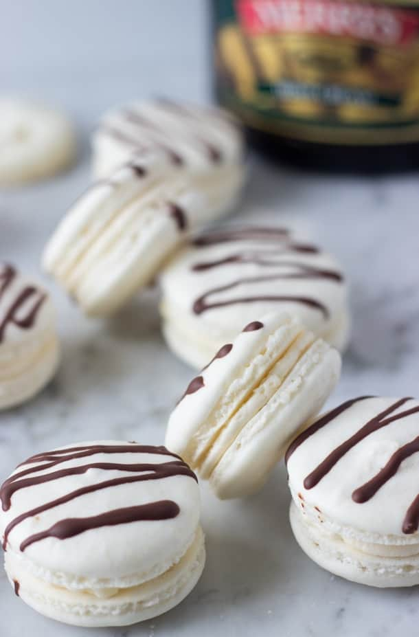 Irish Cream Macarons