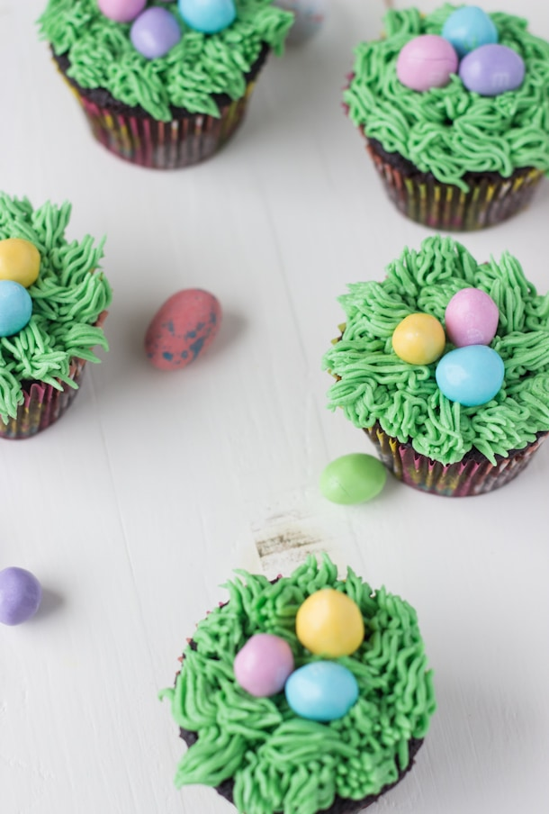 Easter Chocolate Cupcake Recipe