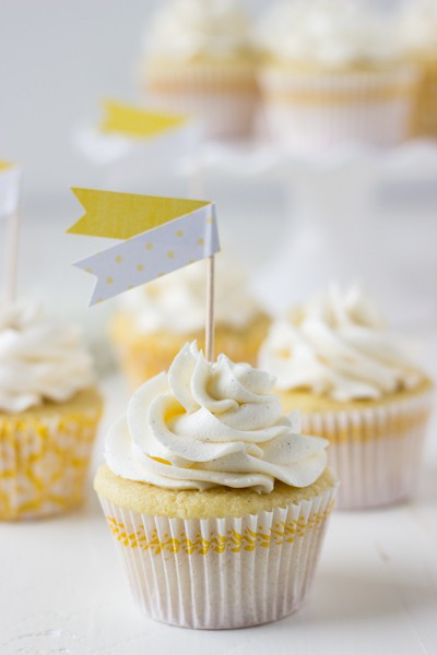 Meyer Lemon Rosemary Cupcakes -2