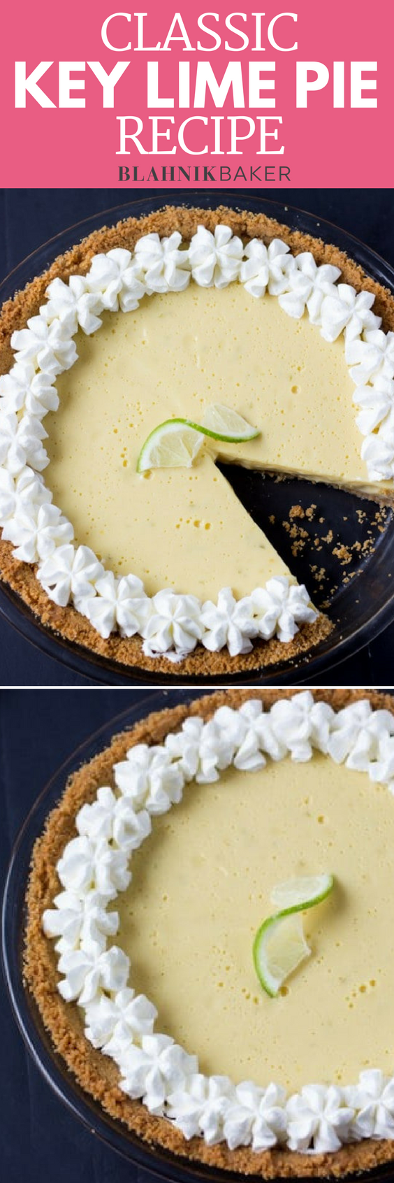 This classic key lime pie recipe is the only one you will need! It's creamy, luscious and perfectly tart with fresh key lime juice. Get the recipe here!
