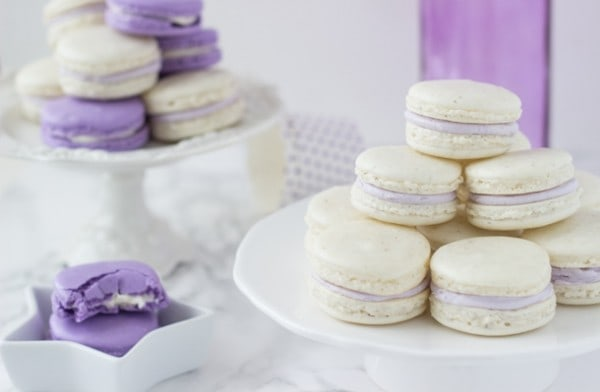 Lavender Honey Macarons