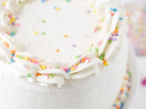 Excellent Classic Vanilla Bean White Layer Cake Blahnik Baker Funny Birthday Cards Online Aeocydamsfinfo
