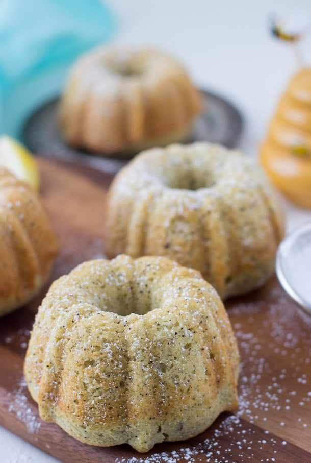 Lemon Almond Tea Cakes