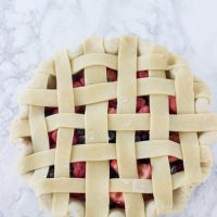 Mixed Berry Pie - juicy berries in a classic summer pie