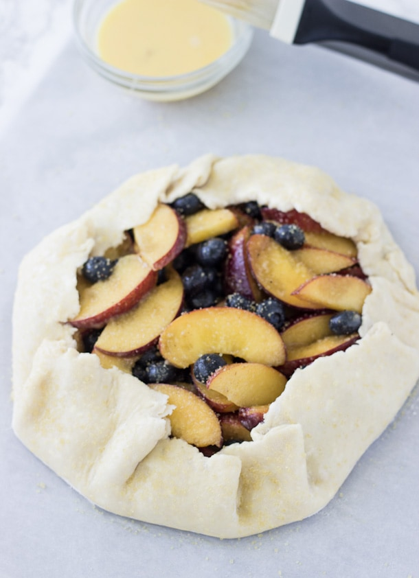 Peach Blueberry Galette-2