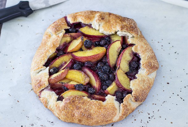 Peach Blueberry Galette-4-2