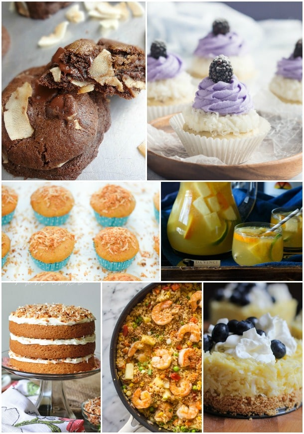 30+ Amazing Coconut Recipes for any summer party