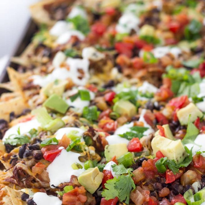 Shredded BBQ Chicken Nachos