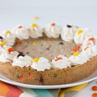 Snickerdoodle Peanut Butter Cookie Cake