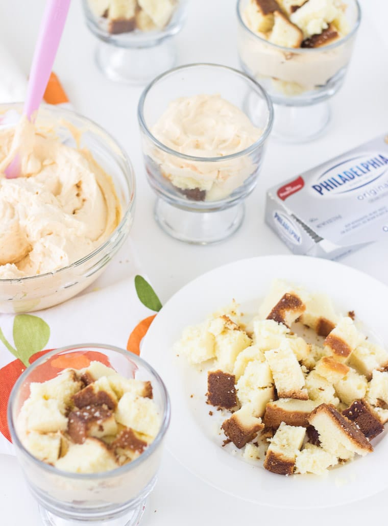 Pumpkin-Cheesecake Trifle