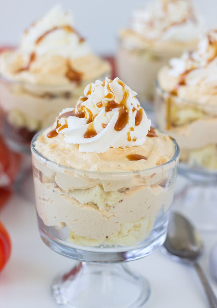 Pumpkin-Cheesecake Trifle